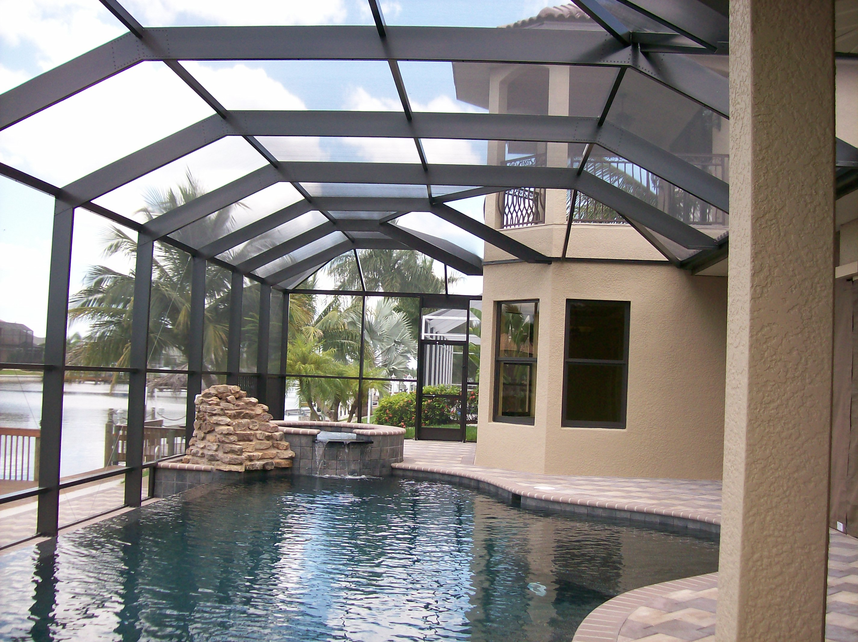 Offering The Best Florida Pool Enclosures Amp Rescreening In
